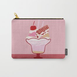 Strawberry Mille-Feuille Parfait Carry-All Pouch