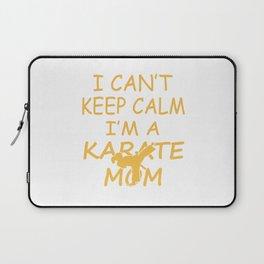 I'M A KARATE MOM Laptop Sleeve