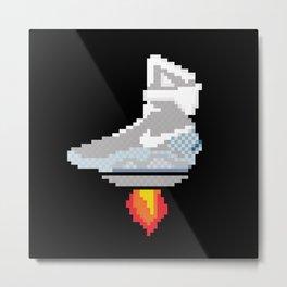 pixel McFly Metal Print