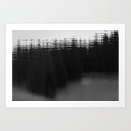 Zeitgefluester NO5 Art Print