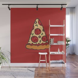 Zen Pizza Wall Mural