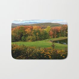 Warren Vermont Foliage Bath Mat