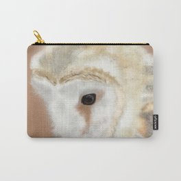 Pensive Barn Owl Carry-All Pouch