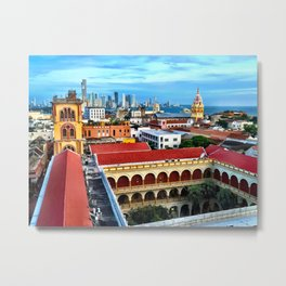 Cartagena, Colombia Metal Print