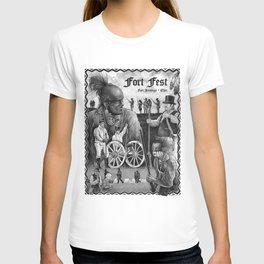 Fort Fest Illustration T-shirt