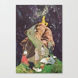 the secret (putos no castelo) Canvas Print