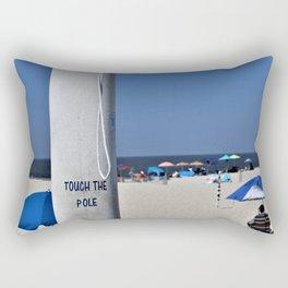 Touch  the Pole Rectangular Pillow