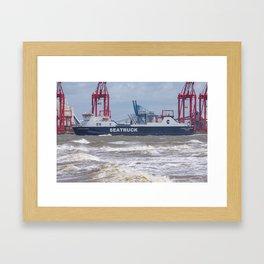 Seatruck Panorama 2 Framed Art Print