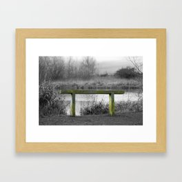 Rest. Framed Art Print
