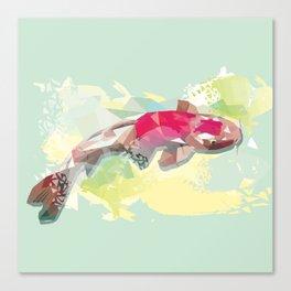 Fish Digital Art Print Canvas Print