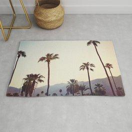 Palm Trees in the Desert Rug
