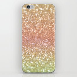 Champagne Shimmer iPhone Skin