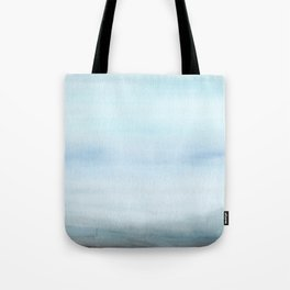 Watercolor Abstract Landscape Tote Bag