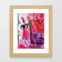 Twisted Kingdom Framed Art Print