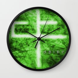 Abide Green Wall Clock