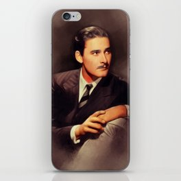 Errol Flynn, Hollywood Legend iPhone Skin