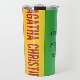 Rainbow Agatha Murder Books Travel Mug