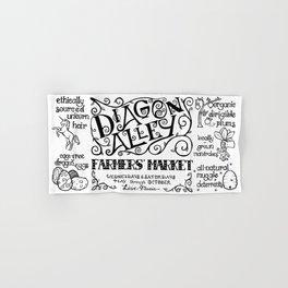 Diagon Alley Farmers' Market Hand & Bath Towel