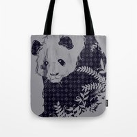 brand new Tote Bags featuring New Brand Panda by Tobe Fonseca