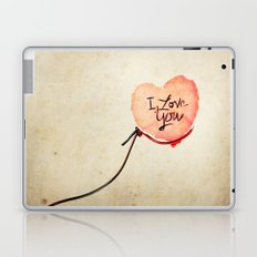 Love heart Message Laptop & iPad Skin