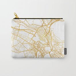 ZÜRICH SWITZERLAND CITY STREET MAP ART Carry-All Pouch