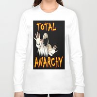 sons of anarchy Long Sleeve T-shirts featuring ANARCHY  by Robleedesigns