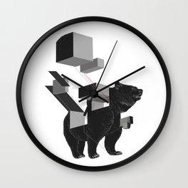 bear_deconstructed Wall Clock