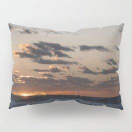 Sunset at dawn in the Ocean Pillow Sham