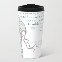 Be Calm Metal Travel Mug