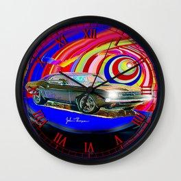 71 Challenger RT Wall Clock