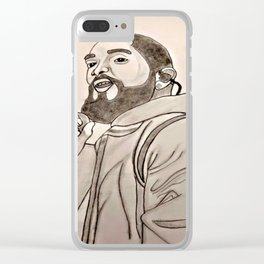 Rest in Power by Double R Clear iPhone Case
