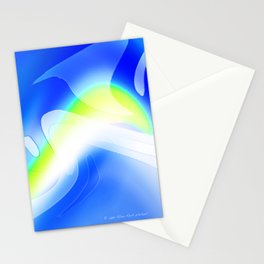"""'70's Lava Lamp"" Photograph Stationery Cards"