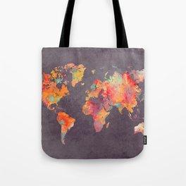 world map 67 Tote Bag