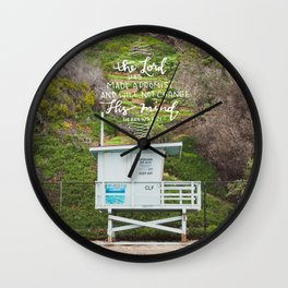Hebrews 7:21 Wall Clock