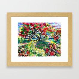 Librarian's Tree Framed Art Print