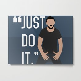 Just do it Shia LeBeouf Metal Print