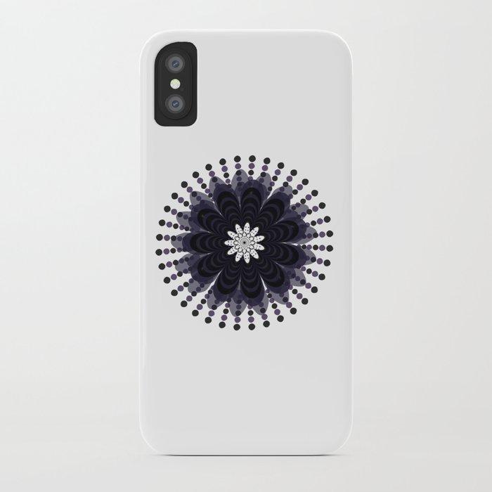 Lilac Mandala iPhone Case