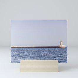seaview - latern Mini Art Print