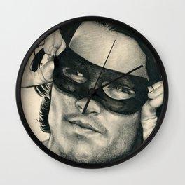 Don Juan de Marco - Johnny Depp Traditional Portrait Print Wall Clock