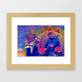 Feast Your Eyes Framed Art Print