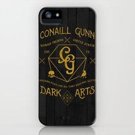 Conaill Gunn Dark Arts ( Prism Monogram )  iPhone Case