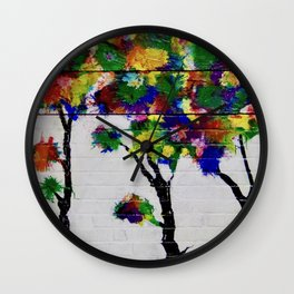 Truffula Trees Wall Clock