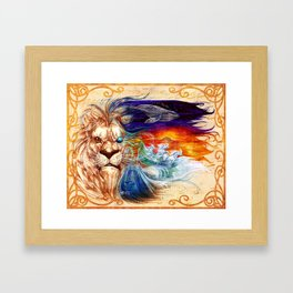 Seventh Movement Framed Art Print
