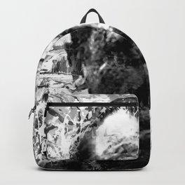 CHARLES BUKOWSKI (BLACK & WHITE VERSION) Backpack