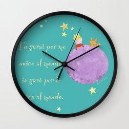Il piccolo principe Wall Clock
