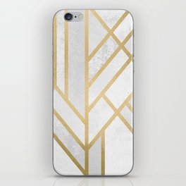 Art Deco Geometry 2 iPhone Skin