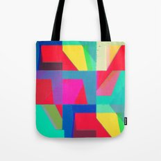 Colorful Truth. Red Tote Bag
