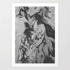 the grudge Art Print
