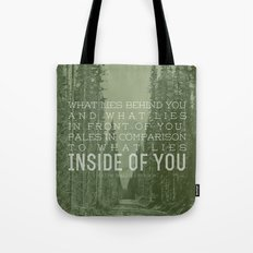Inside of You Tote Bag