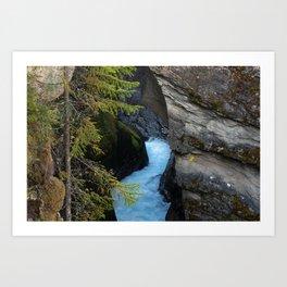 Nature's Melt I (Norway) Art Print